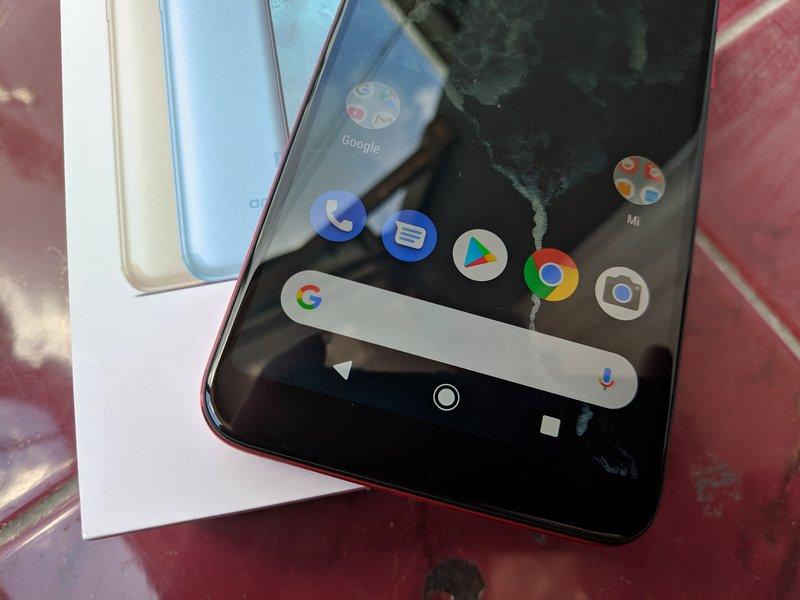Desain Xiaomi Mi A2