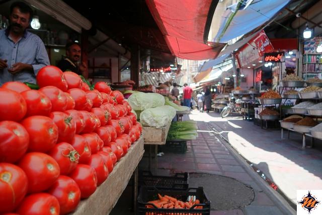 Sanandaj, bazar
