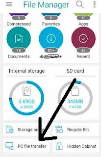 File manager se Mobile ko laptop se kaise connect kare 2021