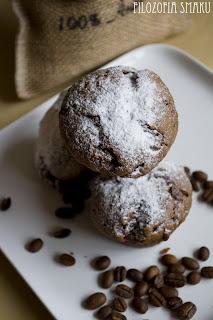 (Muffiny kawowe z czekoladąE