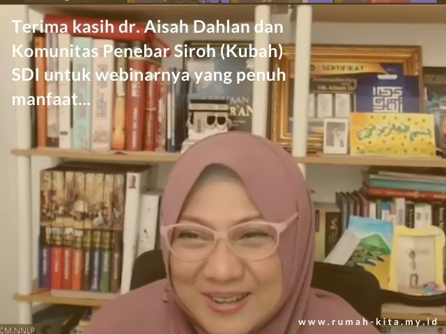 Seminar KUBAH dr. Aisah Dahlan