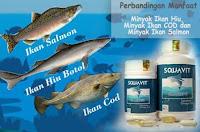 SQUAVIT Minyak Ikan Original Squalene Deep Ocean Fish Liver Oil - Omega Squa 3 6 Ikan Laut Dalam