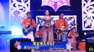Lirik Lagu Wewangi - Megawati