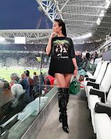 Georgina Rodriguez de t-shirt