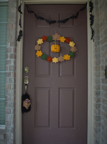 #calabazas #pumpkins #otoño #fall #autumn #halloween #LabrandounHOGAR #alfileres #hojasotono #hojascrochet #autumnleave