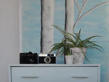 Cómo pintar un mueble con efecto degradado
