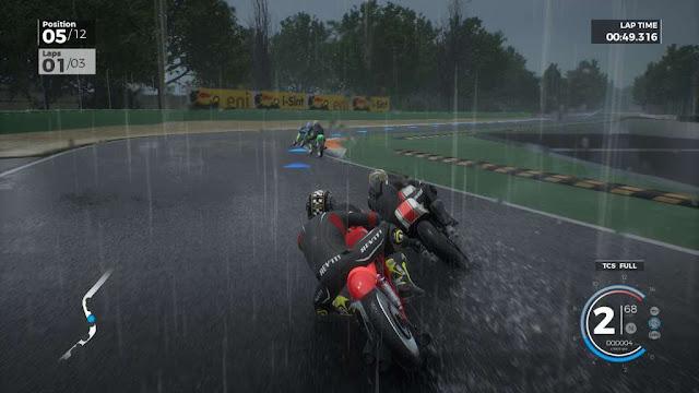 Ride 3 sotto la pioggia