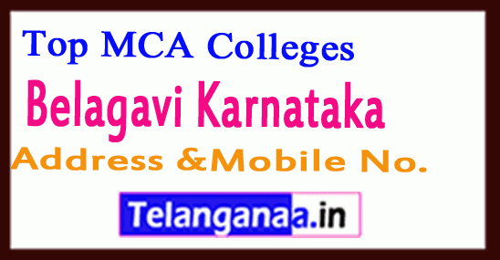 Top MCA Colleges in Belagavi Karnataka