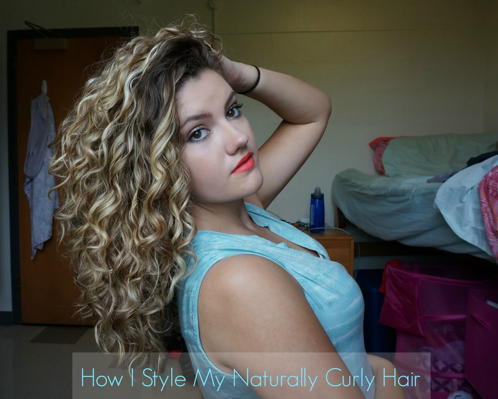 how can i style my curly hair ganey how i style my naturally curly hair 5728