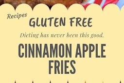 Gluten free Cinnamon Apple Fries #glutenfree