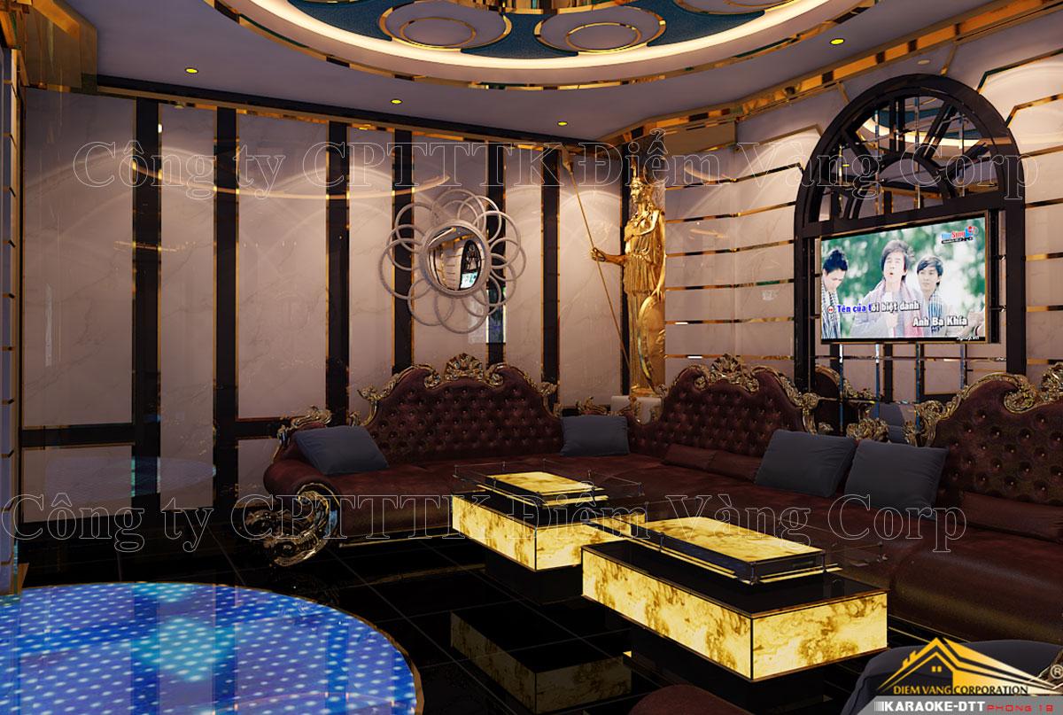 Thiết kế phòng karaoke 3D Ảnh Full chất lượng cao 4