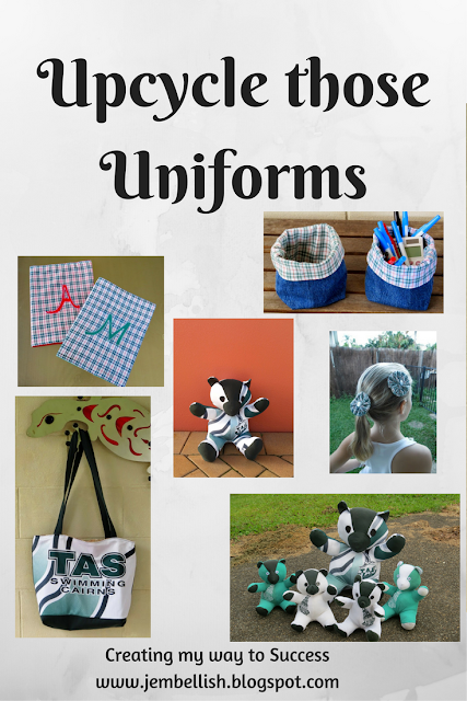 Upcycle those Uniforms