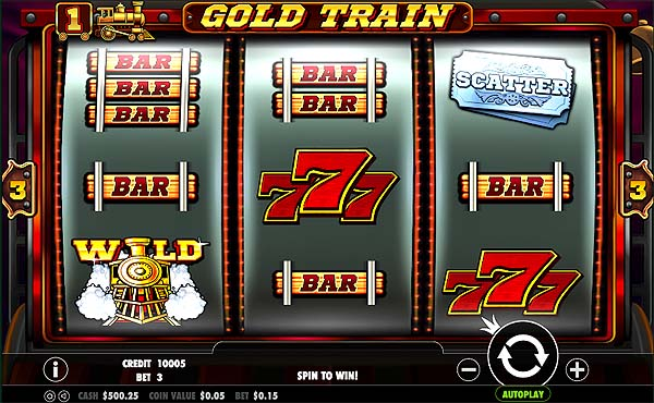 Main Gratis Slot Indonesia - Gold Train (Pragmatic Play)