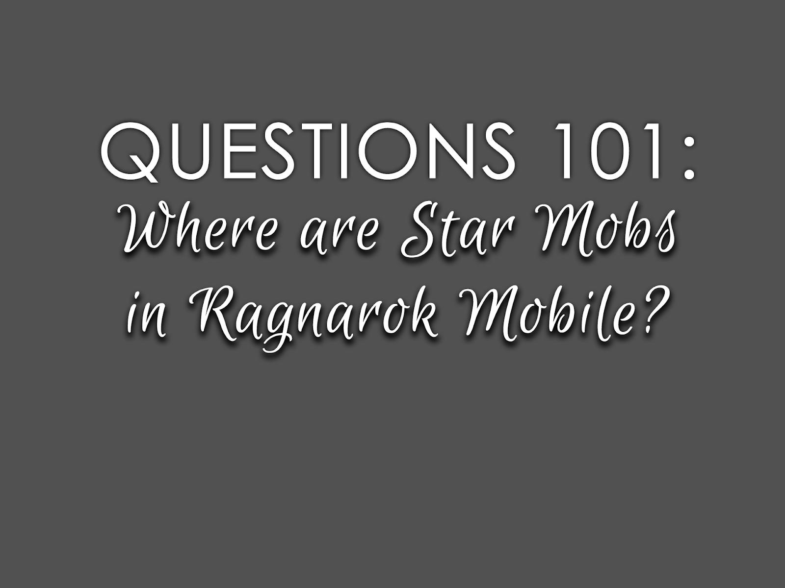 Where is Goblin*, Sohee*, and Horong* in 'Ragnarok M