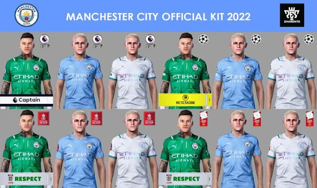 Pes 2021 Manchester City Kits 2021 2022
