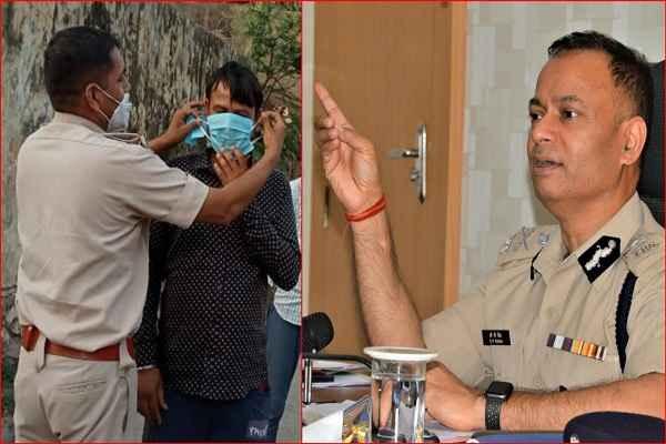 faridabad-police-will-start-challan-mask-rs-500-news-in-hindi