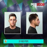 PES 6 Faces Nick Pope by El SergioJr