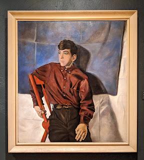 Carolyn Wyeth painting