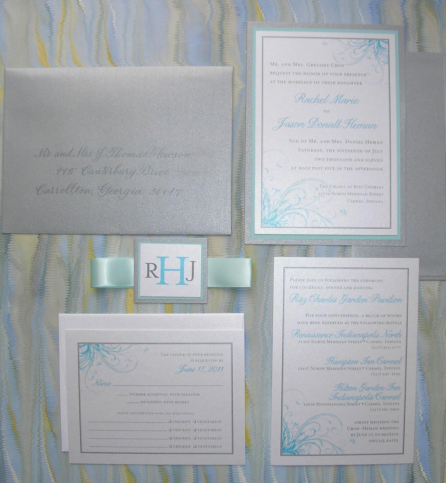 Wedding Invitations Indianapolis: Wedding Calligraphy By Jane Farr: Indianapolis Wedding