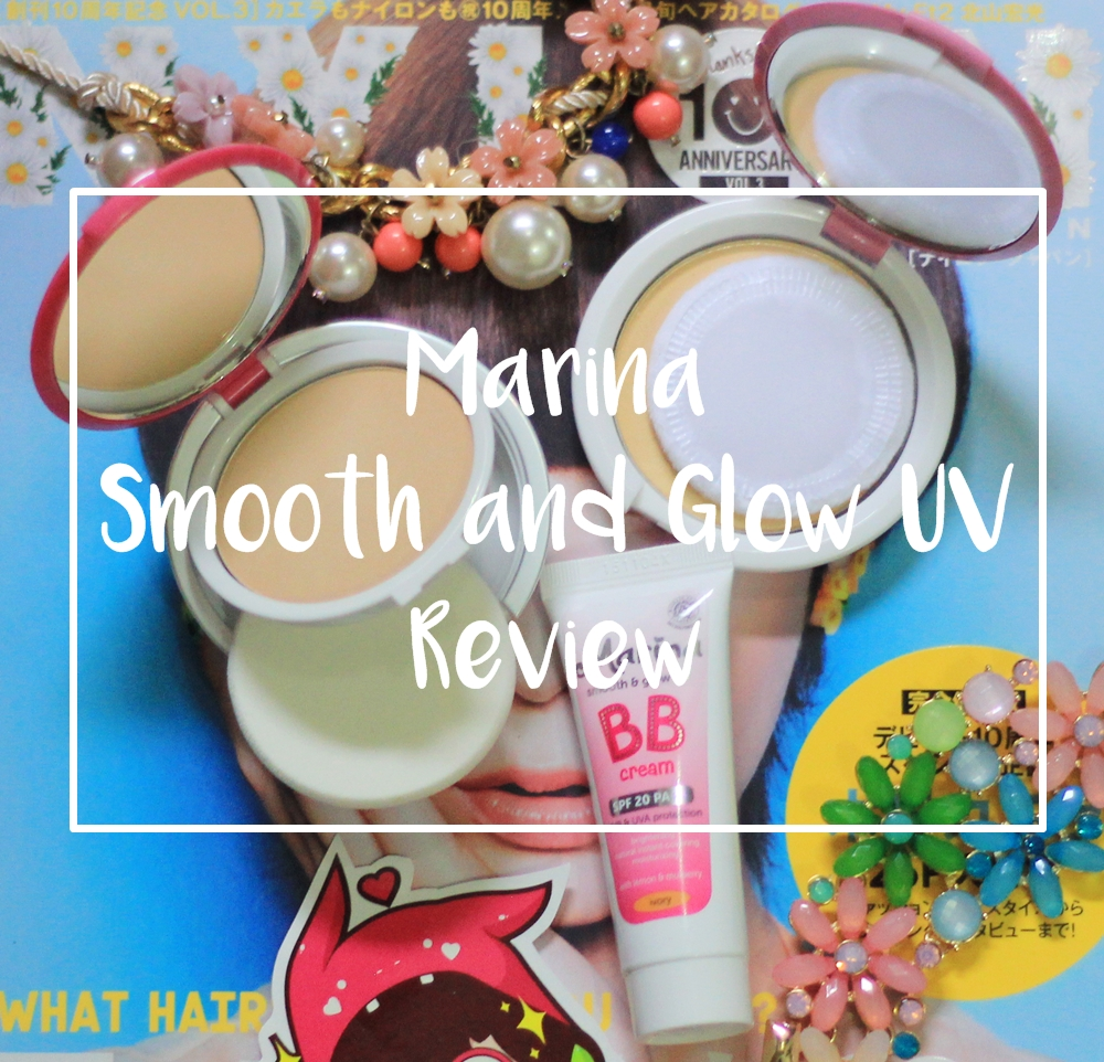 review marina smooth and glow uv | japobsganbare.blogspot.com