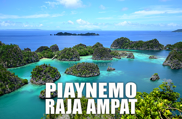 Piaynemo Island Raja Ampat