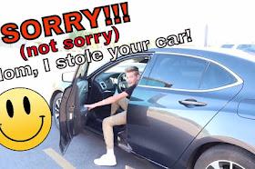 I TOOK MY MOMS CAR!