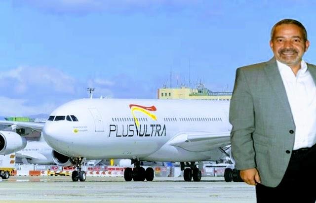 El empresario Rodolfo Reyes Rojas es el único consejero de la aerolínea Plus Ultra que continuó gozando de sueldo tras la pandemia