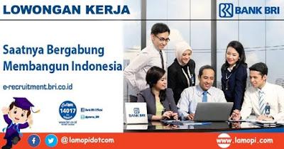 Lowongan Kerja Bank BRI Bulan September 2020