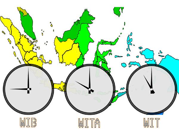 Pembagian daerah atau Provinsi menurut Zona Waktu WIB Daftar Provinsi yang termasuk zona WIB, WITA dan WIT di Indonesia