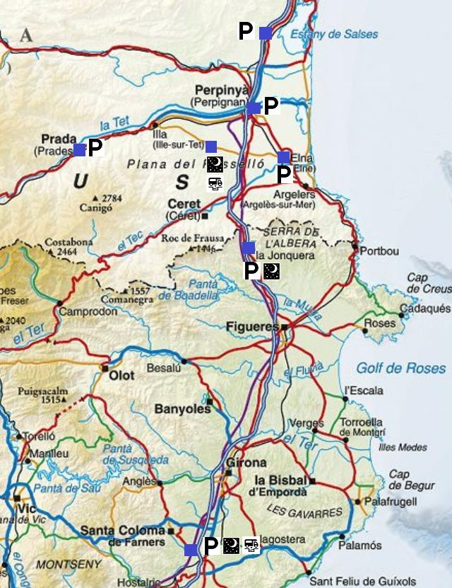 Etapes de l'escapada amb autocaravana pel Rosselló