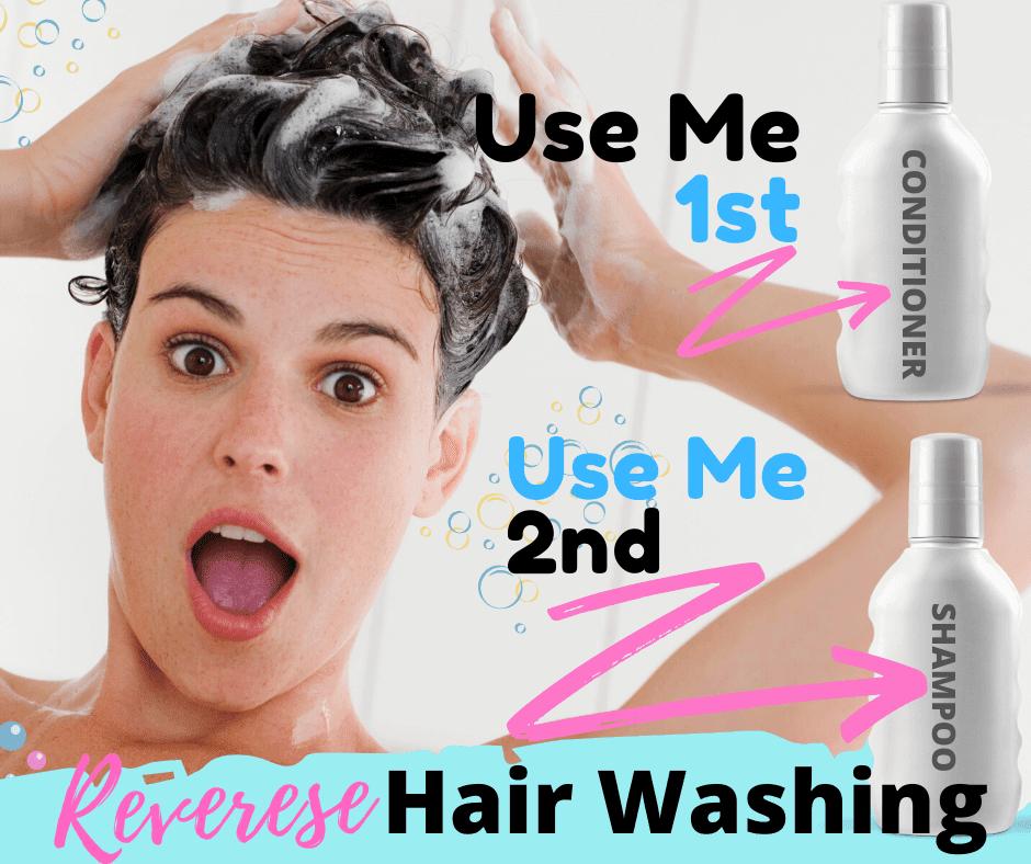 The Reverse Hair Washing By Award Winning Beauty Blogger Barbie's Beauty Bits