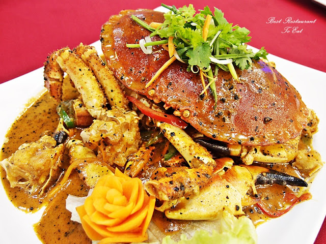 Ibrahims Fatty Crab Restoran Ampang Jaya French Crab with Mongolian Sauce