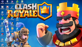 Download Theme Clash of Royale For Windows 7,8/10