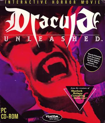 Portada videojuego Dracula Unleashed