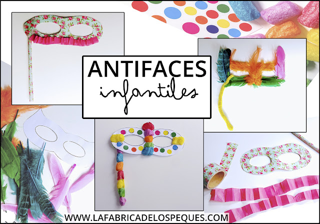 Antifaces infantiles