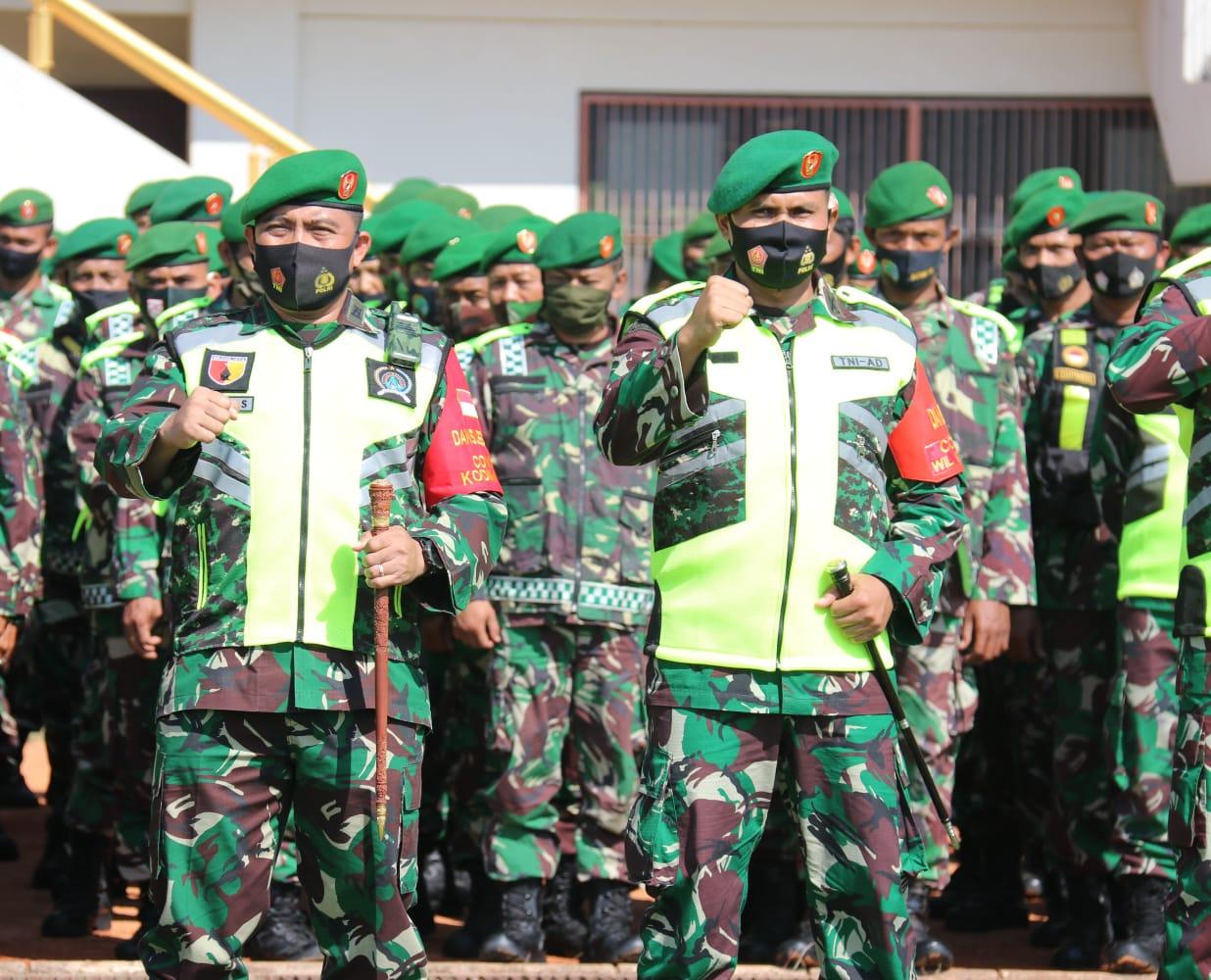Dandim Ngawi, Jajaran Kodim Ngawi Akan Selalu Dukung Penuh Pemerintah Dalam Penanganan Covid 19