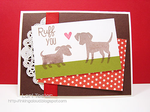 Ruff You card-designed by Lori Tecler/Inking Aloud-stamps from Paper Smooches