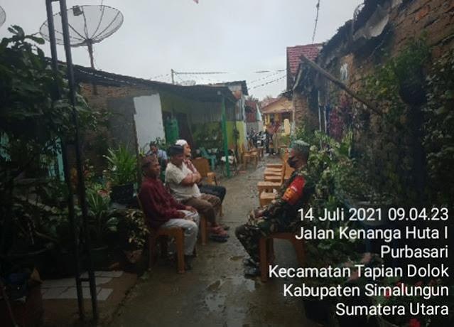 Turut Berbelasungkawa, Personel Jajaran Kodim 0207/Simalungun Laksanakan Melayat Diwilayah Binaan