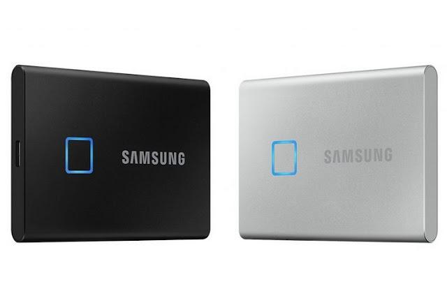 سامسونج تكشف عن هارد SSD مع ماسح للبصمات