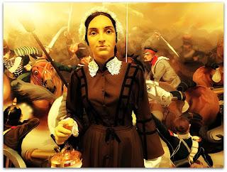A Enfermeira Florence Nightingale  (Museu de Ciência e Tecnologia da PUCRS)