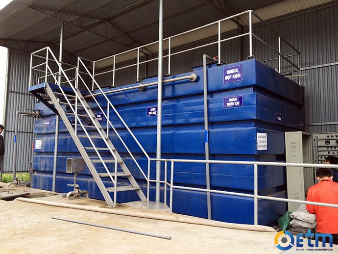 Cho thuê modul hệ thống xử lý nước thải sinh hoạt