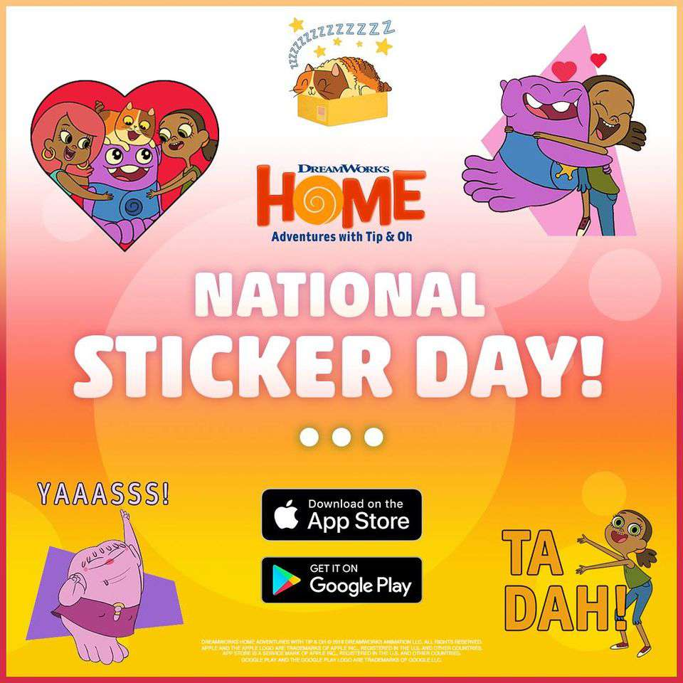 National Sticker Day Wishes