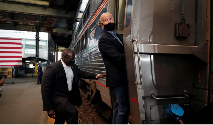 Biden will not go to his Inauguration by Train