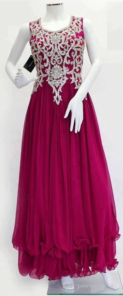 New Fashion Styles: Latest Party Dresses For Girls 2013