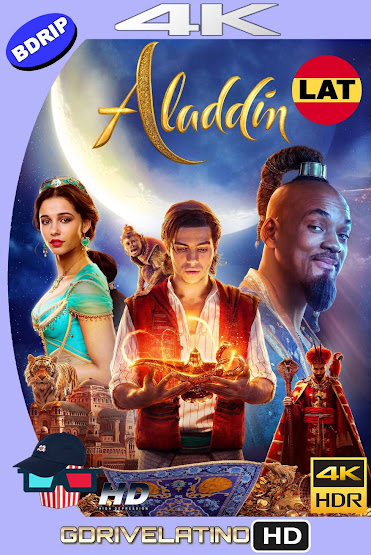 Aladdin (2019) BDRip 4K HDR Latino-Ingles MKV
