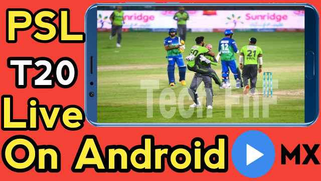 How To Watch PSL Live On Android
