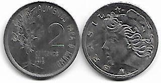2 centavos FAO, 1975