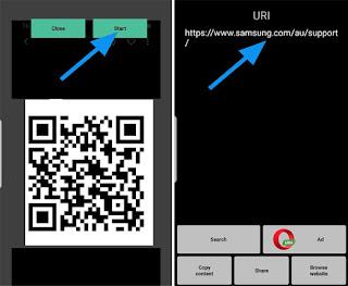 Cara Memindai Kode QR di Android