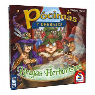 Pócimas y Brebajes: Las Brujas Herboristas (¿Qué añade?) El club del dado Pocimas-y-brebajes-las-brujas-herboristas
