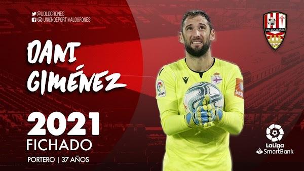 Oficial: UD Logroñés, firma Dani Giménez